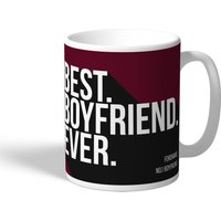 West Ham United Personalised Best Boyfriend Ever Mug