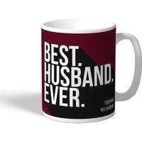 West Ham United Personalised Best Husband Ever Mug