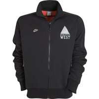 Nike Athletics West N98 Track Jacket - Black/Reflective Silver