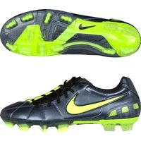 Nike T90 Laser III Firm Ground Football Boots - Metallic Blue Dusk/Volt/Black