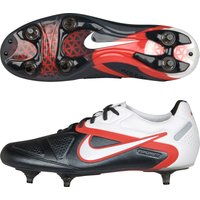 Nike Ctr360 Maestri Ii Soft Ground Football Boots - Black/white/challenge Red