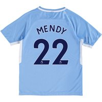 Manchester City Home Stadium Shirt 2017-18 - Kids with Mendy 22 printing