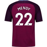 Manchester City Away Stadium Shirt 2017-18 - Kids with Mendy 22 printing