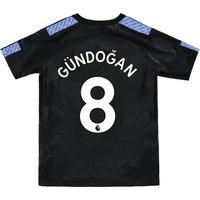 Manchester City Third Stadium Shirt 2017-18 - Kids with Gündogan 8 printing