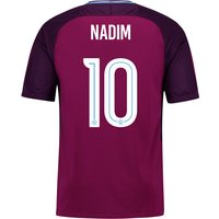Manchester City Away Stadium Cup Shirt 2017-18 - Kids with Nadim 10 printing