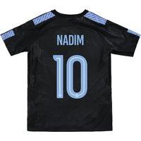 Manchester City Third Stadium Cup Shirt 2017-18 - Kids with Nadim 10 printing