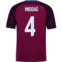 Manchester City Away Stadium Cup Shirt 2017-18 - Kids with Middag 4 printing