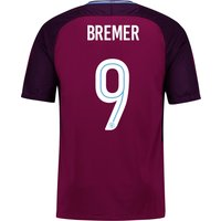 Manchester City Away Stadium Cup Shirt 2017-18 - Kids with Bremer 9 printing