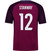 Manchester City Away Stadium Cup Shirt 2017-18 - Kids with Stanway 12 printing