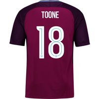 Manchester City Away Stadium Cup Shirt 2017-18 - Kids with Toone 18 printing