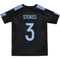 Manchester City Third Stadium Cup Shirt 2017-18 - Kids with Stokes 3 printing