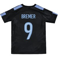 Manchester City Third Stadium Cup Shirt 2017-18 - Kids with Bremer 9 printing