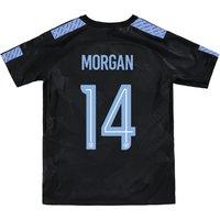 Manchester City Third Stadium Cup Shirt 2017-18 - Kids with Morgan 14 printing
