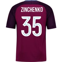Manchester City Away Cup Stadium Shirt 2017-18 - Kids with Zinchenko 35 printing