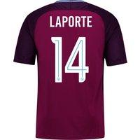 Manchester City Away Stadium Cup Shirt 2017-18 - Kids with Laporte 14 printing