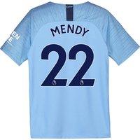 Manchester City Home Stadium Shirt 2018-19 - Kids with Mendy 22 printing