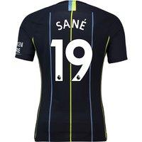 Manchester City Away Vapor Match Shirt 2018-19 with Sané 19 printing