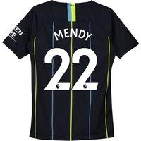 Manchester City Away Stadium Shirt 2018-19 - Kids with Mendy 22 printing