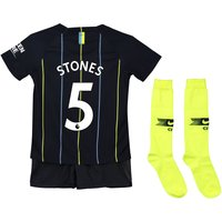 Manchester City Away Stadium Kit 2018-19 - Little Kids with Stones 5 printing