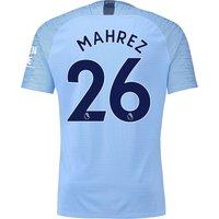 Manchester City Home Vapor Match Shirt 2018-19 with Mahrez 26 printing
