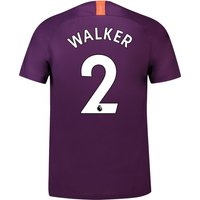 Manchester City Third Stadium Shirt 2018-19 with Walker 2 printing