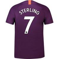 Manchester City Third Stadium Shirt 2018-19 with Sterling 7 printing