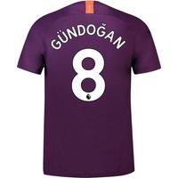 Manchester City Third Stadium Shirt 2018-19 with Gündogan 8 printing