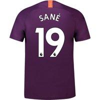 Manchester City Third Stadium Shirt 2018-19 with Sané 19 printing