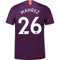 Manchester City Third Stadium Shirt 2018-19 with Mahrez 26 printing
