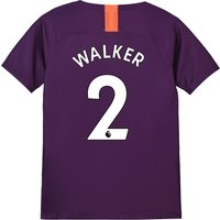 Manchester City Third Stadium Shirt 2018-19 - Kids with Walker 2 printing