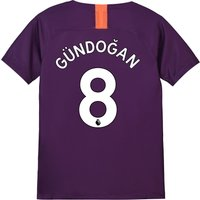 Manchester City Third Stadium Shirt 2018-19 - Kids with Gündogan 8 printing