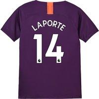 Manchester City Third Stadium Shirt 2018-19 - Kids with Laporte 14 printing