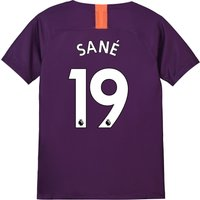 Manchester City Third Stadium Shirt 2018-19 - Kids with Sané 19 printing