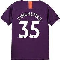 Manchester City Third Stadium Shirt 2018-19 - Kids with Zinchenko 35 printing