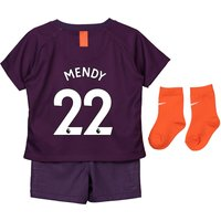 Manchester City Third Stadium Kit 2018-19 - Infants with Mendy 22 printing