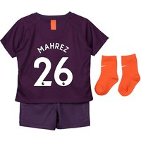 Manchester City Third Stadium Kit 2018-19 - Infants with Mahrez 26 printing