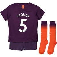 Manchester City Third Stadium Kit 2018-19 - Little Kids with Stones 5 printing