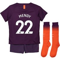 Manchester City Third Stadium Kit 2018-19 - Little Kids with Mendy 22 printing