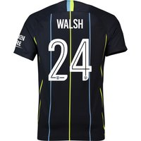 Manchester City Away Cup Stadium Shirt 2018-19 with Walsh 24 printing
