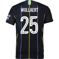 Manchester City Away Cup Stadium Shirt 2018-19 with Wullaert 25 printing