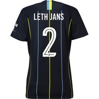 Manchester City Away Cup Stadium Shirt 2018-19 - Womens with Leth Jans 2 printing