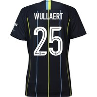 Manchester City Away Cup Stadium Shirt 2018-19 - Womens with Wullaert 25 printing