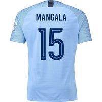 Manchester City Home Cup Vapor Match Shirt 2018-19 with Mangala 15 printing