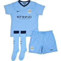 Manchester City Home Kit 2014/15 - Little Boys