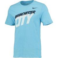 Manchester City Core Type T-Shirt Lt Blue