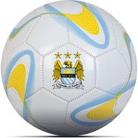 Manchester City Size 5 Football White/Sky