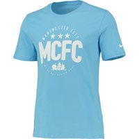Manchester City Core Plus T-Shirt Lt Blue