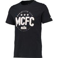 Manchester City Core Plus T-Shirt Navy