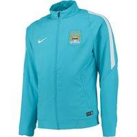 Manchester City Sideline Woven Jacket Lt Blue