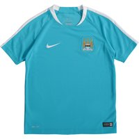 Manchester City Flash Short Sleeve Training Top - Kids Lt Blue